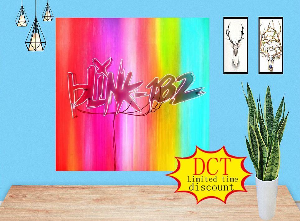 Blink-182 Cartel de nueve álbumes Pap Rap Music Cover Silk Art Print