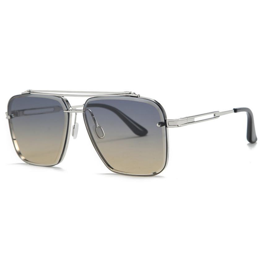 8 Styles Sunglasses 17302 Metal Sunglasses Vintage Sun Glasses Street Mirror Eyewear Outdoor Goggles in stock