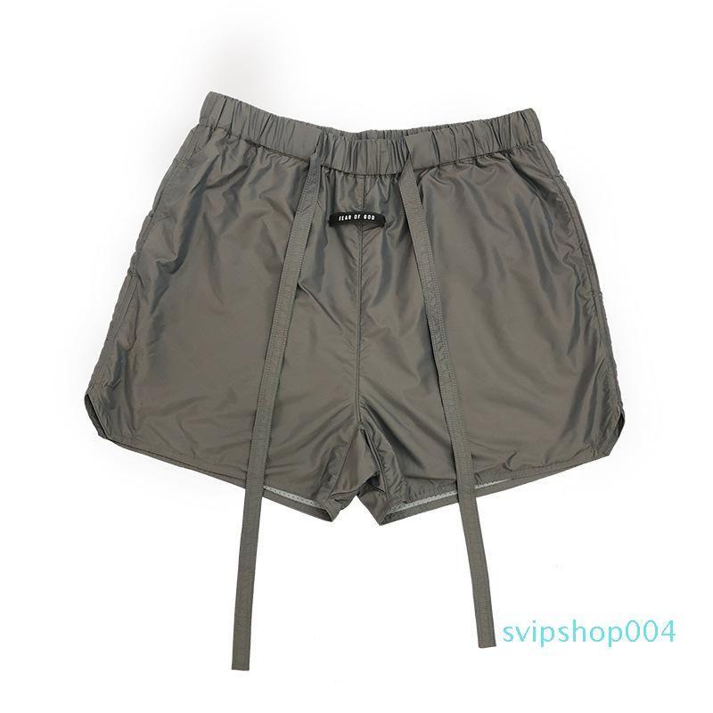 Miedo Essentials God High Fog Beach Seis Top of Temporada S-XL Sweetpants Street Quality Men Shorts Pantalones Pantalones Mujeres # D03 XLFSC