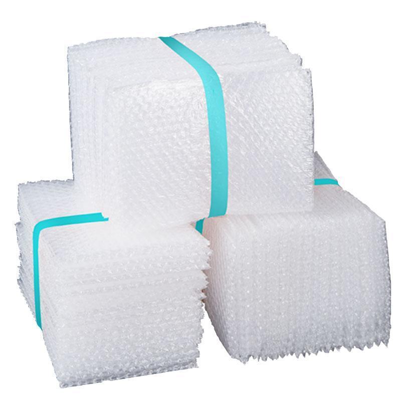 Bolsas de embalagem 2021 50 pcs plástico envoltório envelope branco PE limpar bolha malaqueira à prova de choque bolsa de choque duplo filme de embalagem de filme