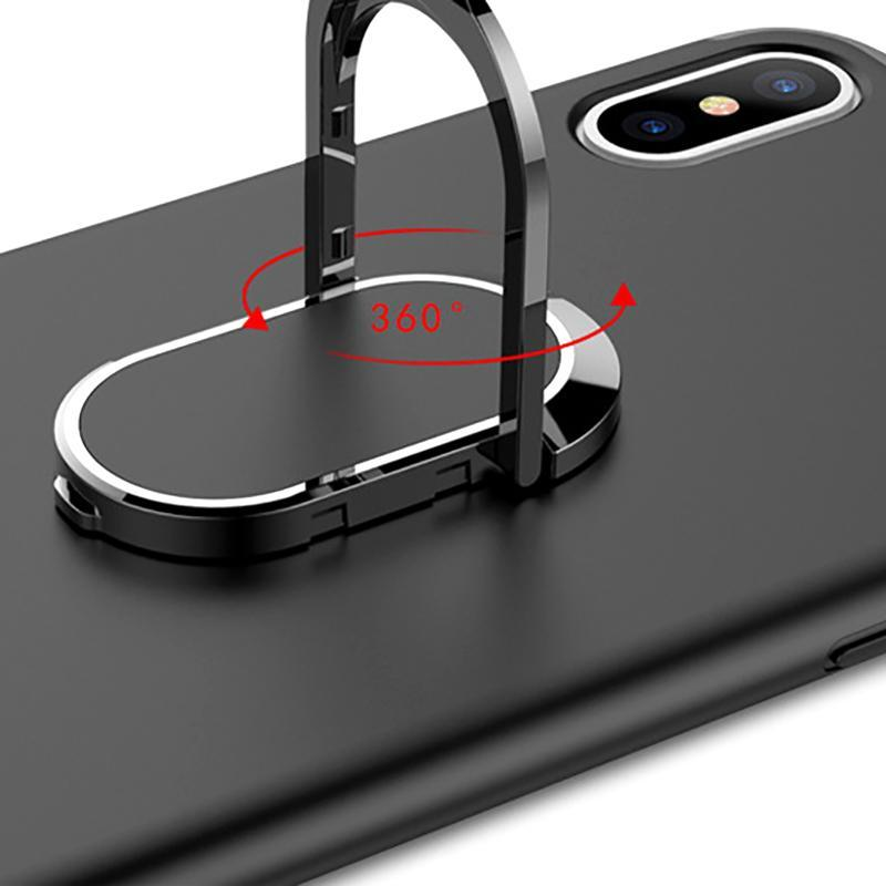 Portátil 2 em 1 suporte do suporte do carro do ímã com casos de telefone para 7 plus Armor à prova de choque dos suportes móveis