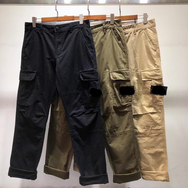 2021 Verkauf von Marke Fracht Hosen Sommer Luxus Designer Männer Klassische Gestickte drei Farben Casual Jogginghosen