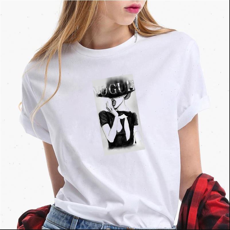 Moda donna T Shirt Shirt Summer Manica Corta Casual Bianco Plus Size Vogue Girls Tops