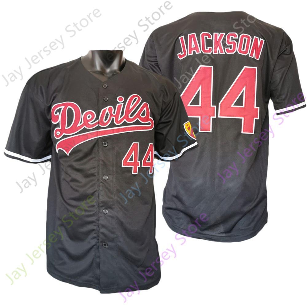 2021 Yeni NCAA Koleji ASU Arizona Devlet Beyzbol Forması 44 Reggie Jackson Siyah Boyutu S-3XL