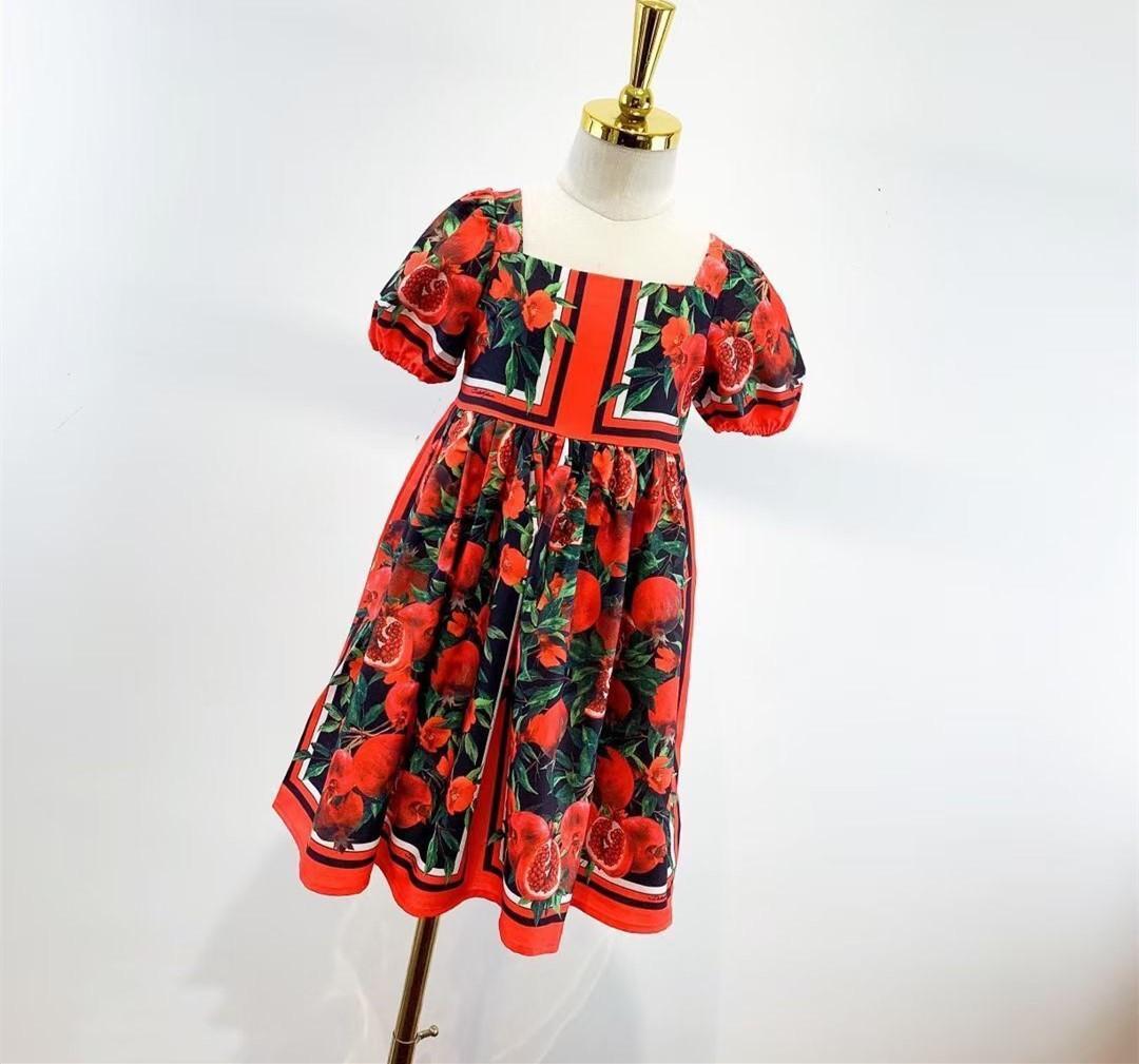 Kız Elbise 2021 Yeni Bebek Elbiseler Doğum Günü Elbise Kadın Bebek Yaz Giysileri Çocuk Kız Giysileri