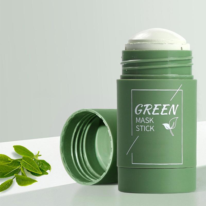 10 قطع الأخضر الشاي التطهير الصلبة قناع عميق نظيفة جمال الجلد greeneas ترطيب الرعاية الرعاية الوجه أقنعة الوجه تقشير T427