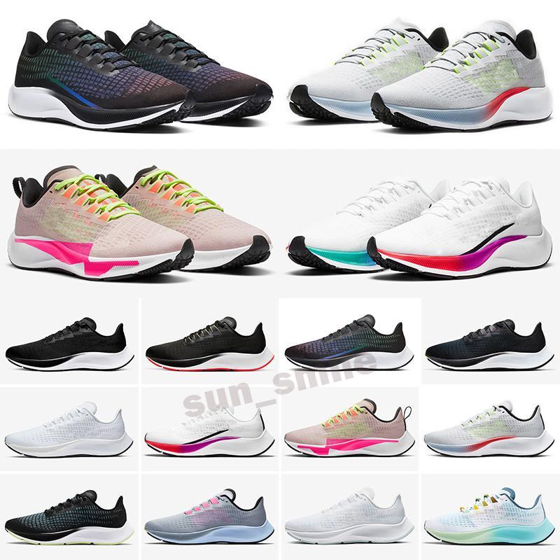 Zoom Pegasus 37 turbo 2019 Ampliar Pegasus Turbo Apenas zapatillas de deporte gris caliente ponche Negro Blanco ZX zapatos para hombres mujeres reaccionan ZoomX Pegasus