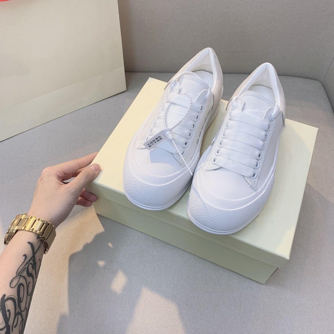 2021 Verão Pequeno Pequeno Fresco Cor Branco Bottom Sapatos de Lona Mulheres Lace-up Sapatos Casuais Sapatos Casuais Ao Ar Livre Moda Diária Feminina Sandshoe