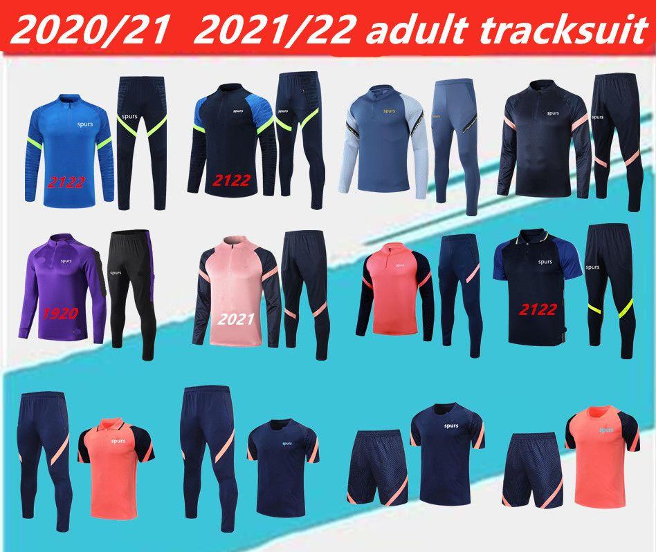 2021/2022 Spurs Yetişkin Eşofman del Chandal 1920 2021 Celso Ndombele Polo Gömlek Futbol Ceketler Eğitim Takım Elbise Jogging.