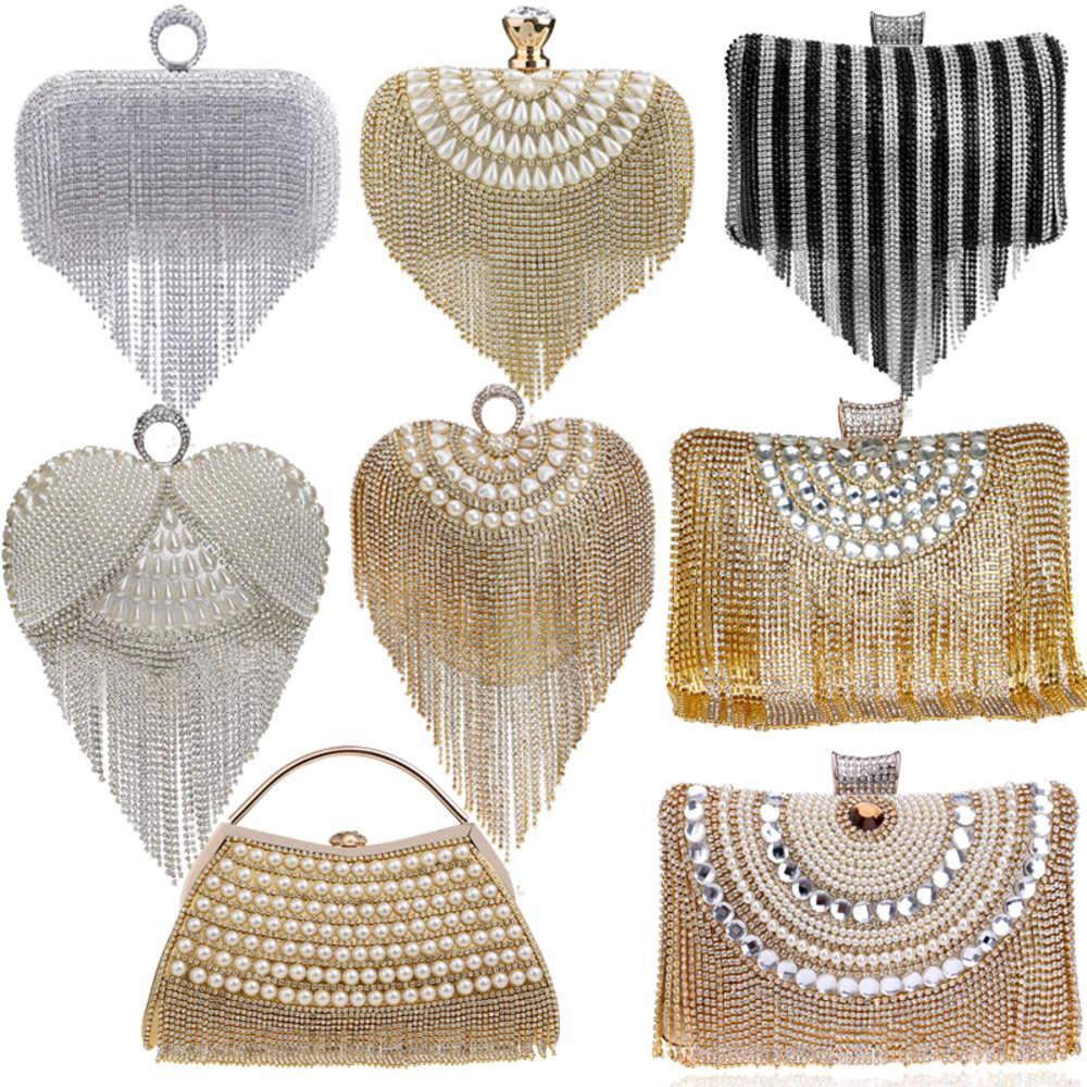 Glove Fashion Women Bag Night bags Diamonds Claws Club Wedding Shoulder Party Laides Case Purse