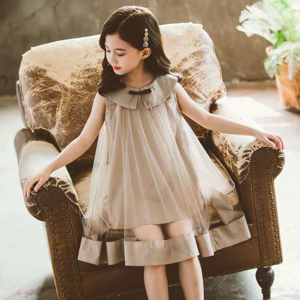 Vestidos Física Shooting Gauze Mori Summer Princs Girls 'Children's DRS
