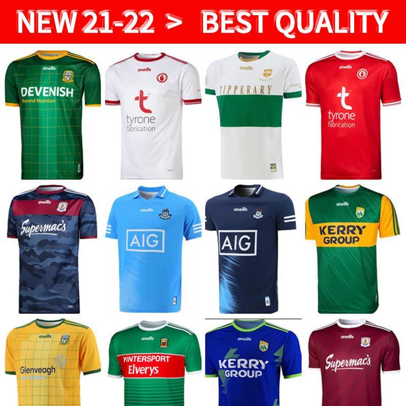 2021 GAA Kerry Tyrone Mayo Trikots Kork Meath Galway Dublin Ath Cliath Gaillimh Tipperary Ciobubraio Arann Rugby Camisas
