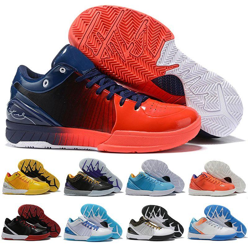 IV 4 بروتيا أسود مامبا أحذية كرة السلة Wizenard هورنتاد كارب ديل سول ZK4 4S المدربين الرياضية رجالي أحذية رياضية