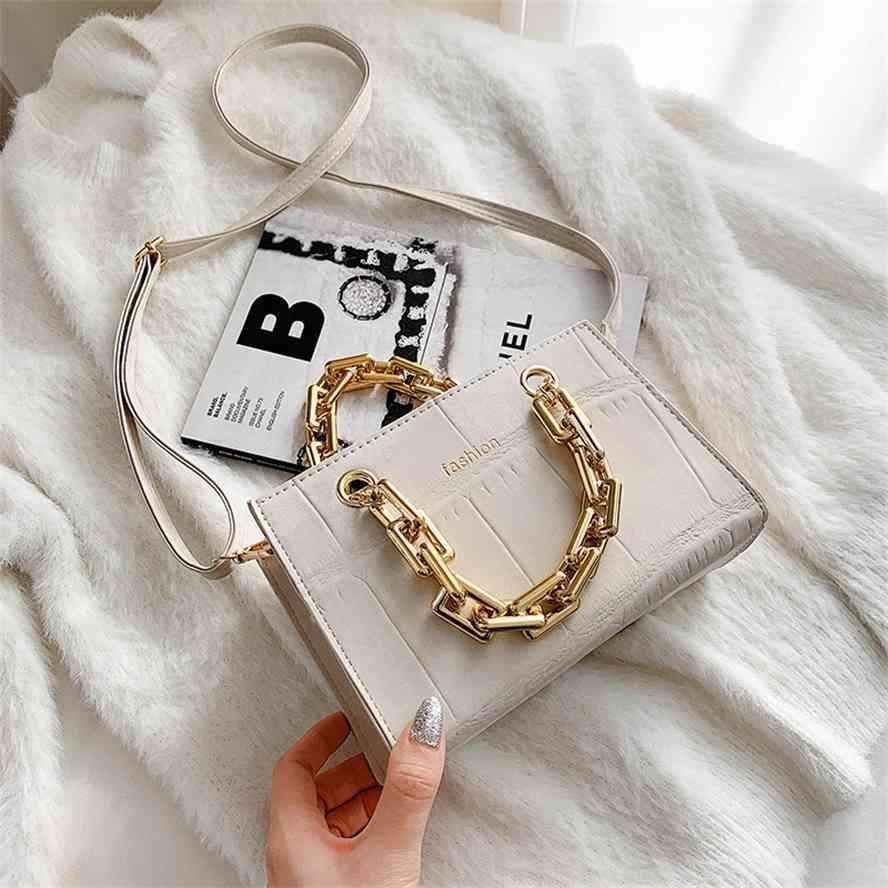 Chain Hand 2020 Novo Outono e Inverno Ombro Feminino Moda Versátil Mensageiro Bag