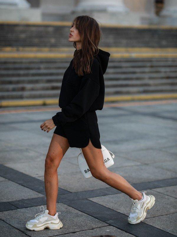 Женские трексуиты 2021 женская повседневная толстовка костюма топы шорты спортивные костюмы осень с капюшоном с капюшоном с капюшоном с длинным рукавом с капюшоном