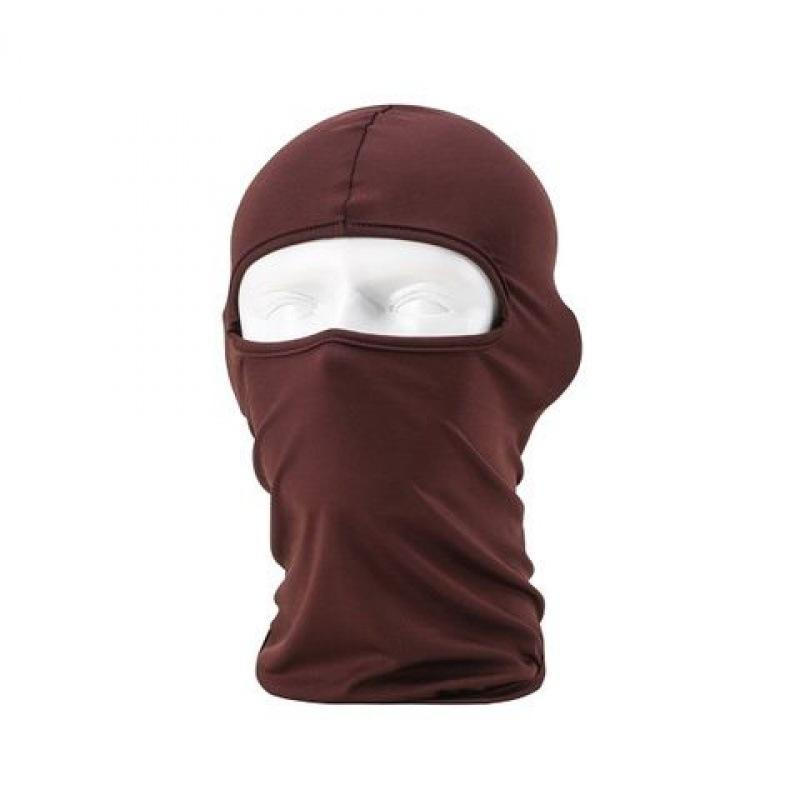 Hot Outdoor Lycra Full Balaclava Headwear Protezione viso 14 colori Moto Cycling Mask Neck Ski Neck AOUWK 2132 V2