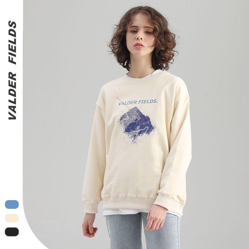 Fangyuan 2021 Frühling und Herbst Neue gedruckte Rundhals-Pullover für Frauen