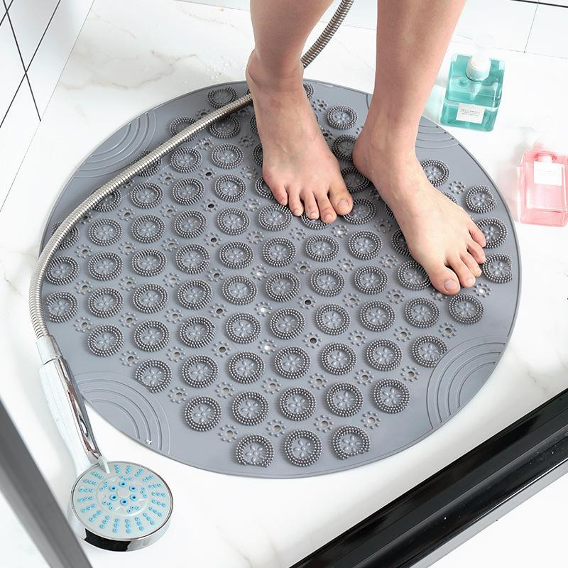 Star El Percular Use Round Bath Tapetes à prova de água Tapetes Toilet Toilet