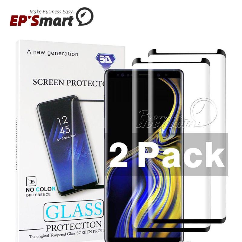 2 حزمة حماة شاشة زجاجية سامسونج غالاكسي S20 S21 S10 S8 زائد Note20 9 8 S7 S6 Edge Huawei Mate 40 Pro 3D منحنى HD واضح مع حزمة