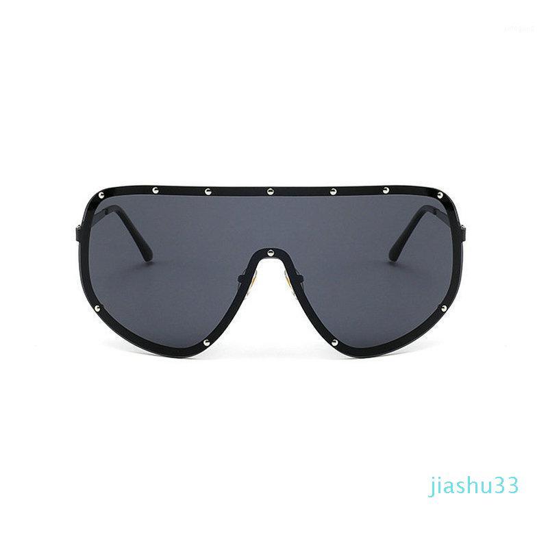 MINCL/2021Oversized XXL Huge Large Shield Wrap Womens Polarized Sunglasses Men and women fashion unique sunglasses FML1