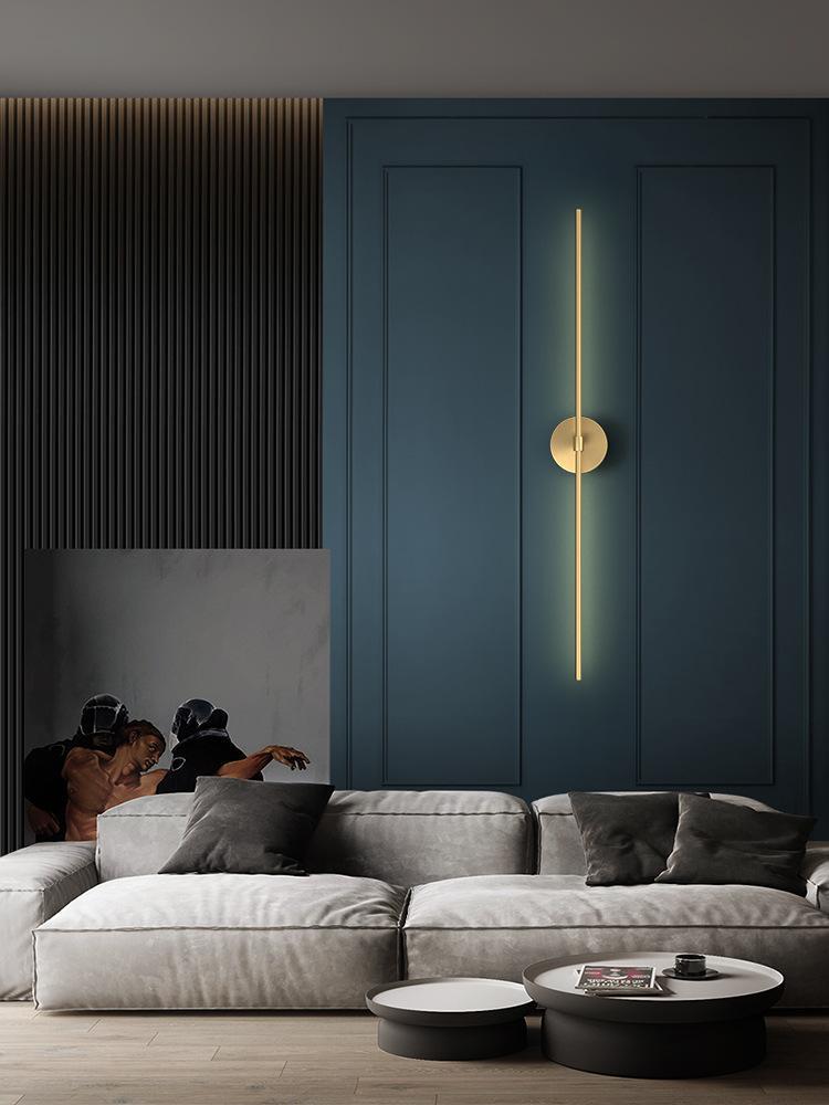 북유럽 LED 나무 벽 빛 Arandela 조명 광택 침실 램프