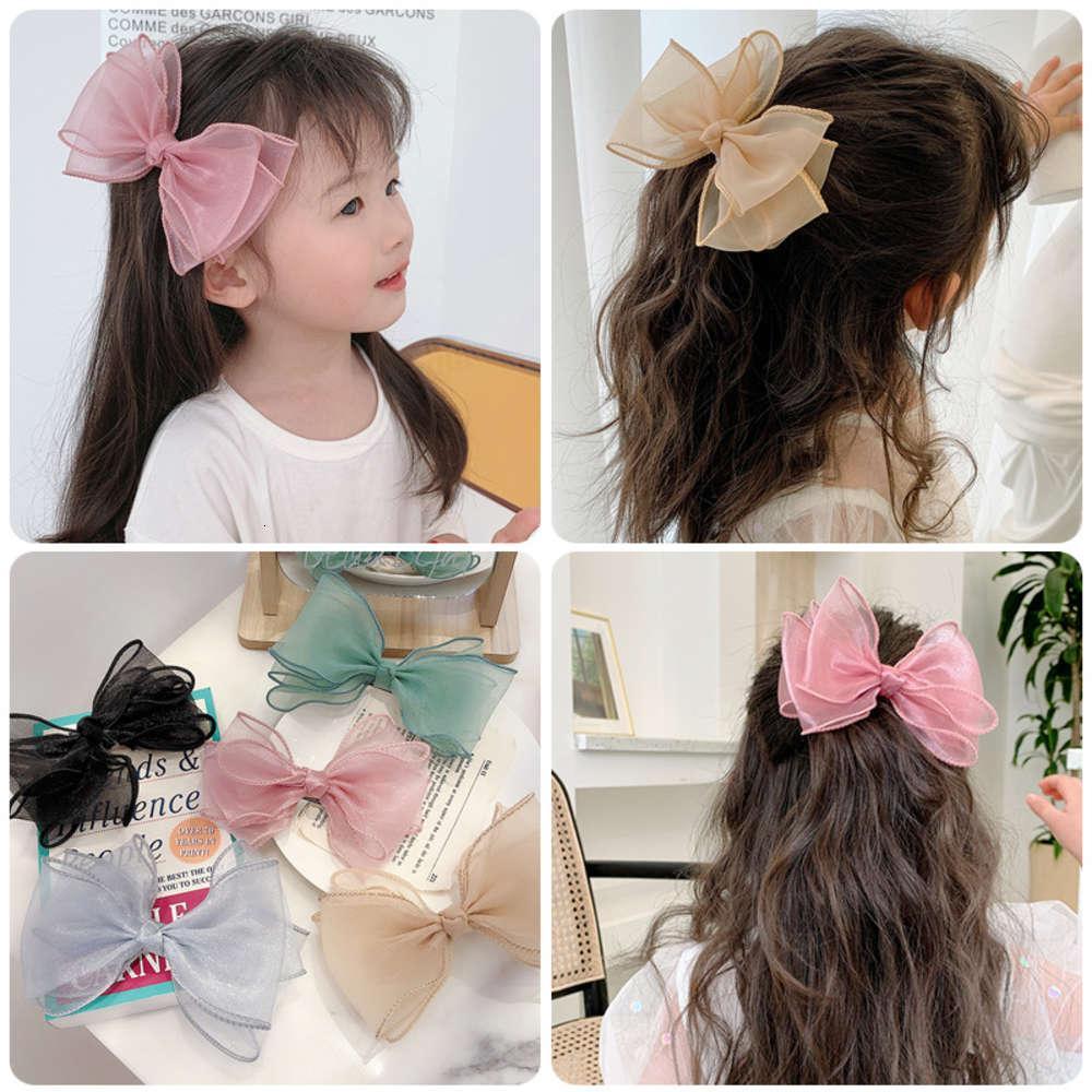 Koreanische Haarnadel Kopfschmuck Net Rot Ins Schnee Spinning Stereo Clip Nette Einfache Einfache Bug Hairpin Kinder Haarschmuck
