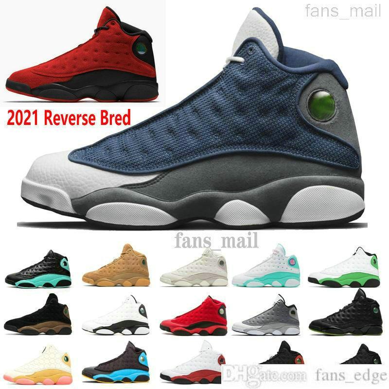 Jumpman 13s havaJOryantalBasketbol ayakkabıları 13 Flint 2021 Ters Bred O oyunu Got Itırlık Retro Erkek Kadın Spor Sneakers