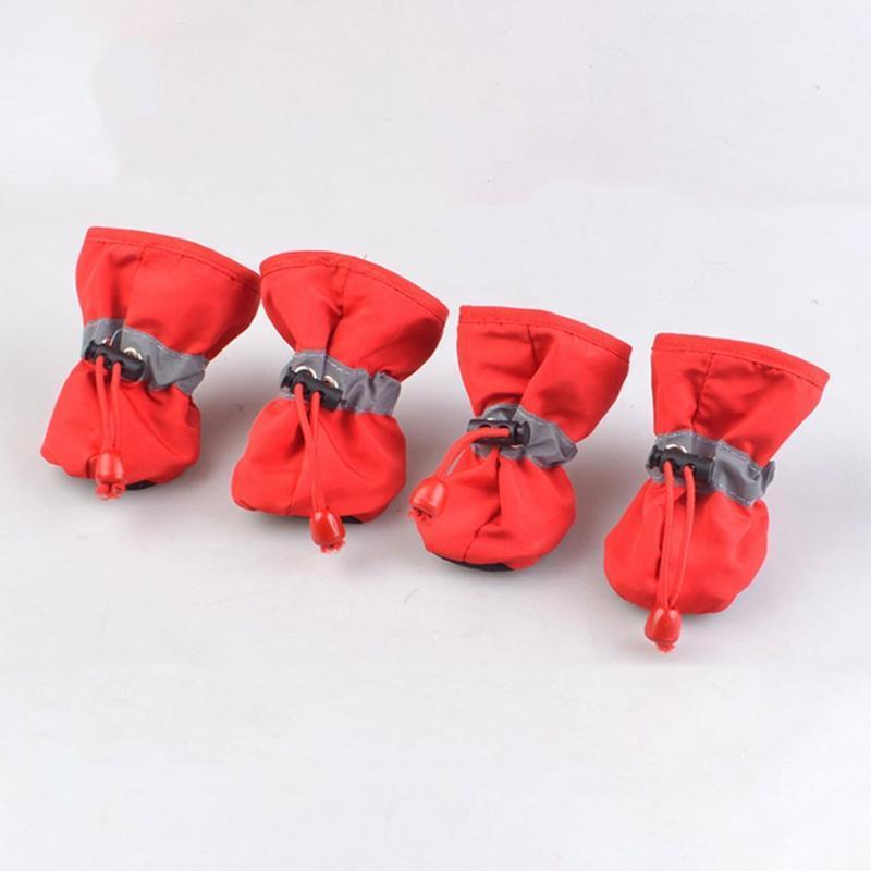 Одежда для собак домашних животных мягкий протектор противоскользящая обувь для маленьких до больших собак S XL Все сезоны пинетки