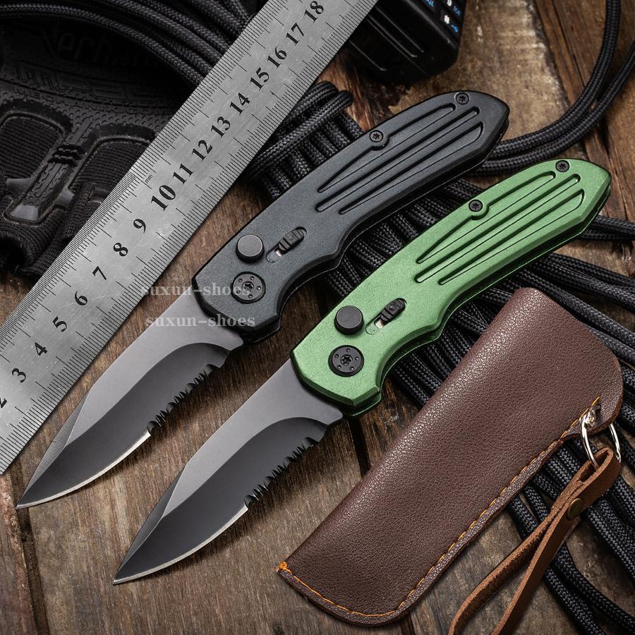 8.5nch faca automática CNC T60161 lidar com lâmina de aço d2 hight qualidade utx70 utx85 bm3300 a07 ut121 x50 camping tático bolso dobrando ferramenta de corte rápida de abertura rápida