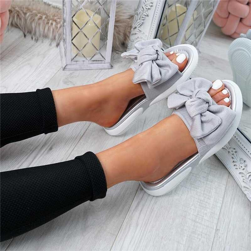Sandalias de arco de Shujin Sandalias para mujer Zapatos de mujer 2020 Torridez Nueva resbalón de moda en Peep Toe Zapatos casuales Sandalias femeninas Tamaño 35-43 CX200616