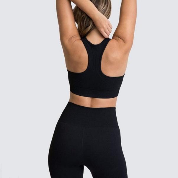 2020 2 PZ Donne Senza Cuciture Senza Cuciture Set Sportswear Sports Bra leggings Pantaloni fitness Pantaloni da palestra Vestito da ginnastica Abbigliamento Atletico Athletic 004