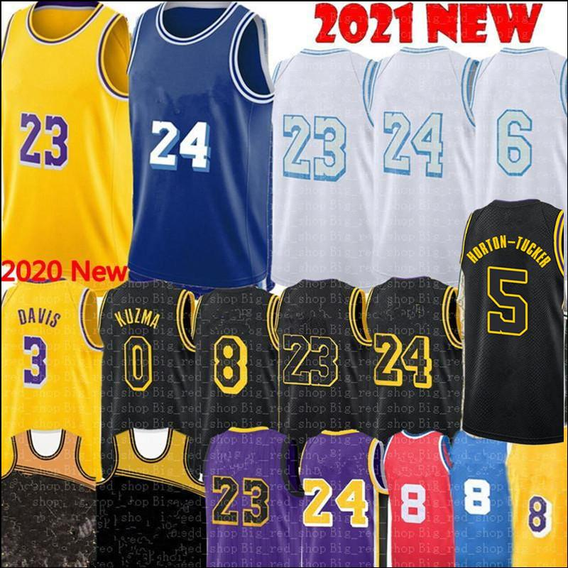 2021 أليكس 4 كاروسو جيرسي لوس تالين 5 هورتون-تاكر أنجلوس الفانيلة أنتوني 3 ديفيس كايل 0 كوزما لكرة السلة S-XXL أصفر أزرق أبيض أسود