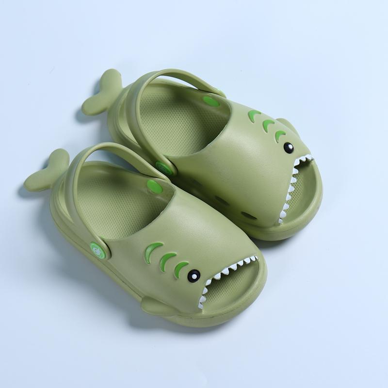 Moda Bambini Nuove pantofole Carino Shak Shak Shak Slippers Bambini Ragazzi Ragazze Eva Eva Soft Bottom Sandali antiscivolo Baby Home Flip flop
