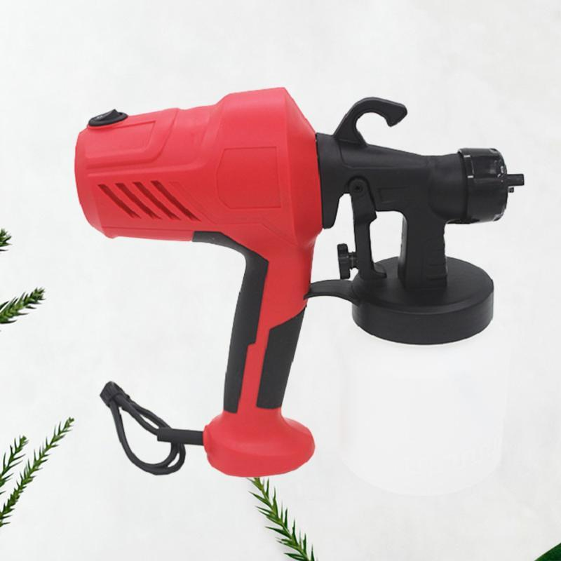 Pistolas de pulverización profesional 400W Extraíble Rociador de pintura eléctrica de alta preesure Formaldehyde Herramienta de pulverización Látex con enchufe del Reino Unido