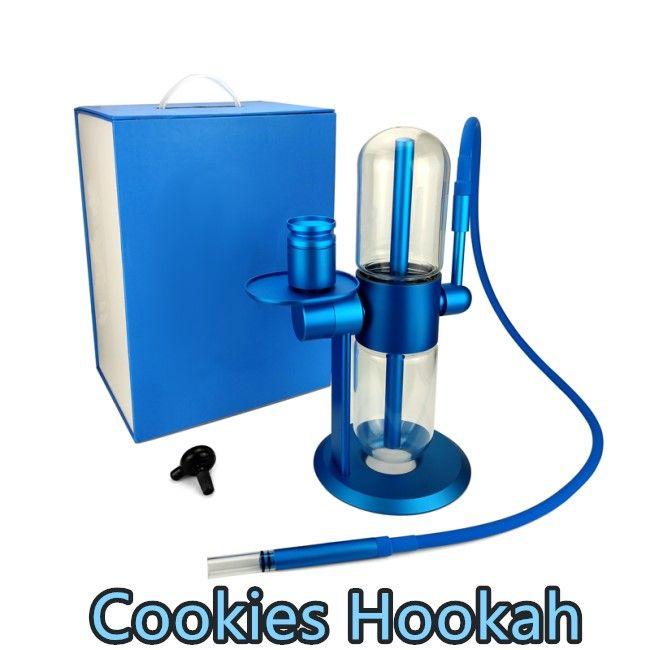 Min.Set Gravity Gravity Bong Galletas de vidrio Tubería de agua Shisha Hookah Tubos Tabaco Fumar Dab Rig Smoke