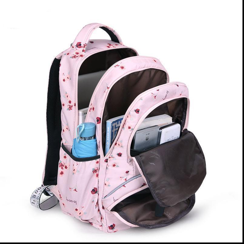 Alta Qualidade Grande Schoolbag Cute Estudante Estudante Mochila Impresso Sacos Públicos Impermeáveis Para Adolescentes Meninas Crianças