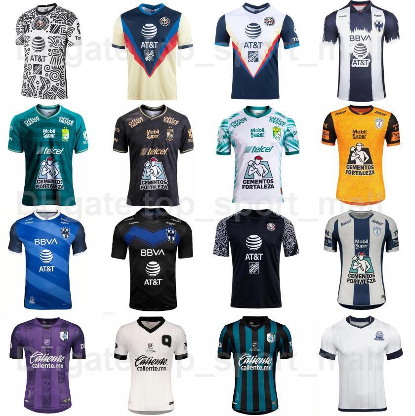 2021-22 Club America Soccer Jersey Mexicana Liga Querétaro FC Leon Monterrey 15 Sepulveda 7 Davila 21 Henry 9 Janssen Football Football Kits Uniforme
