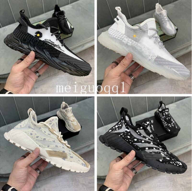 2021 مصمم أحذية رياضية الركض شبكة عارضة الأحذية إلكتروني الرباط سميكة سوليد الرجال أحذية أعلى جودة الأزياء الفاخرة تنفس 38-45