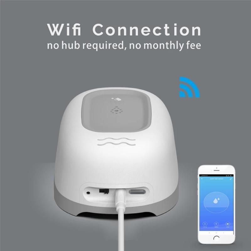 Smart Home Control Tuya WiFi Water Diarve Alarm Sensor Security Detector Module Automation