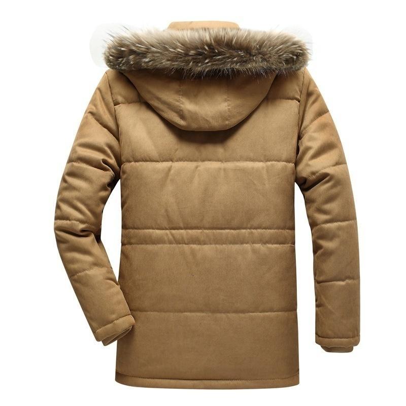 Couro masculino falso jaqueta de inverno homens pele parkas casaco casual windproof warm jackets homens espessos velo blusa de lã militar Overc