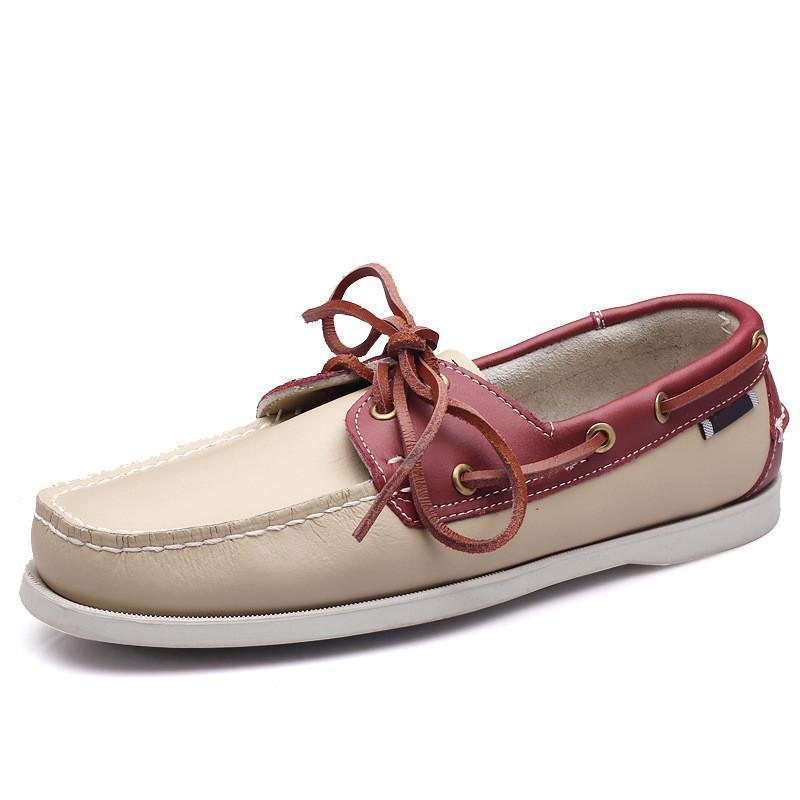여자 운동화 항해 신발 망 캐주얼 가죽 신발 검은 흰색 녹색 오렌지 갈색 야외 트레이너 크기 38-45 90 9