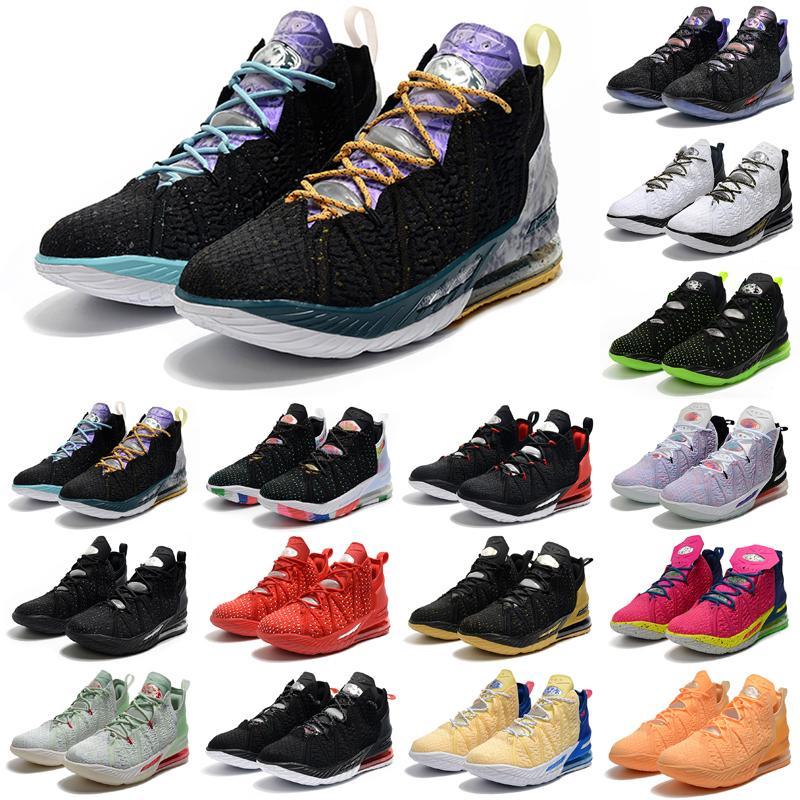 Erkek Jumpman 18 XVI Açık Ayakkabı 18s Spor Sneakers Gençlik Eğitmenler Taht Martin Siyah Eşitliği İzle