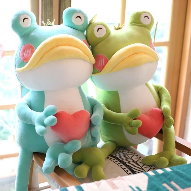 Plüsch Puppen Herz Neue Große Mund Liebe Niedlichen Frosch Spielzeug Mädchen Große Geschenk Puppe