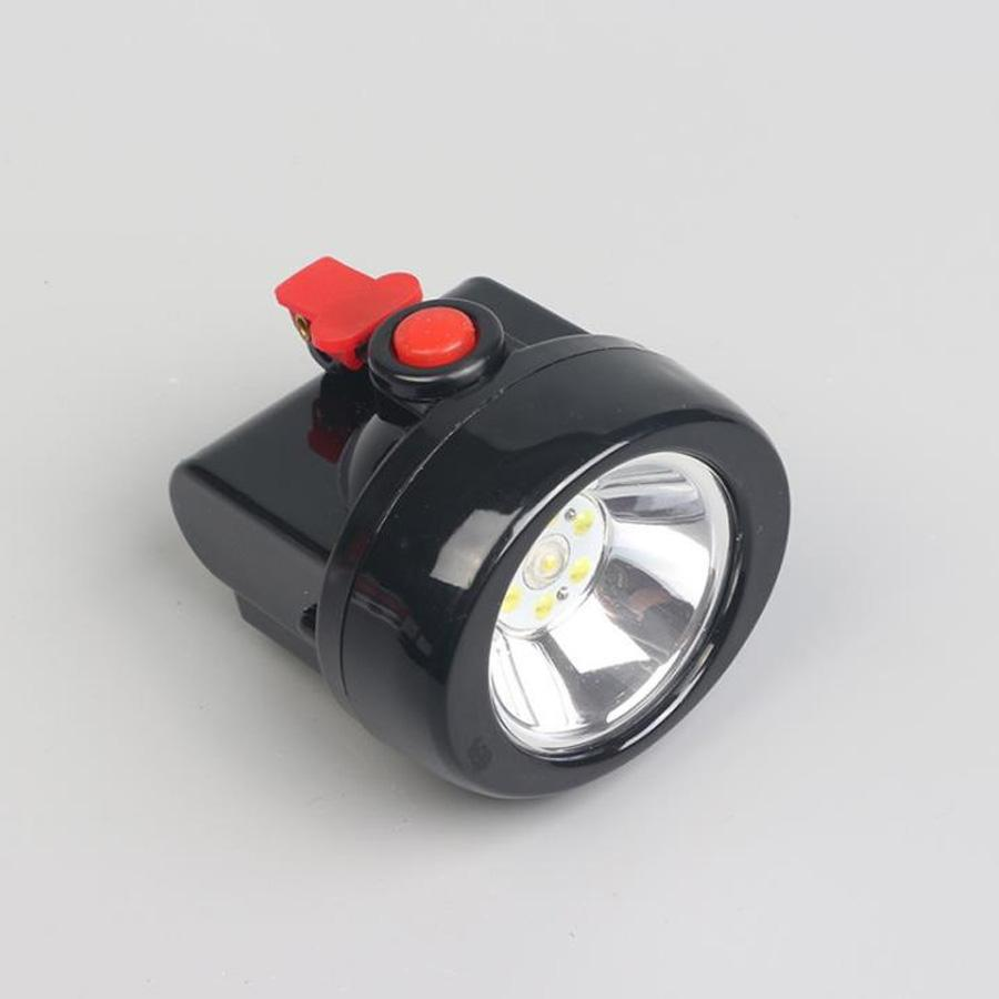 1+6LED headlamp 1W lithium battery industrial mining dustproof headlight main auxiliary light source waterproof and send charger KL2.5LM(A)