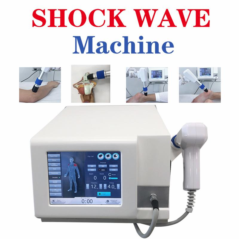 Orthopedics Rehabilitation ED Shockwave Therapy Equipment Professional Shockwave Therapy Machine for High Pressure Max to 6bar