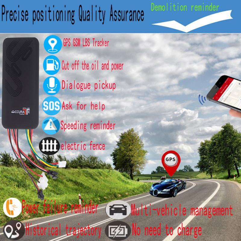 Car GPS & Accessories Tracker For Vehicles Locator Vehicle GPS/GSM/GPRS/SMS System Tracking Cars Anti Theft Device