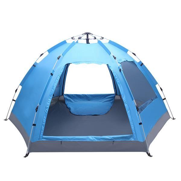التخييم مجانا لبناء خيمة هيدروليكية مع ستة جوانب طبقة واحدة الأبواب المزدوجة و D Ople Windows
