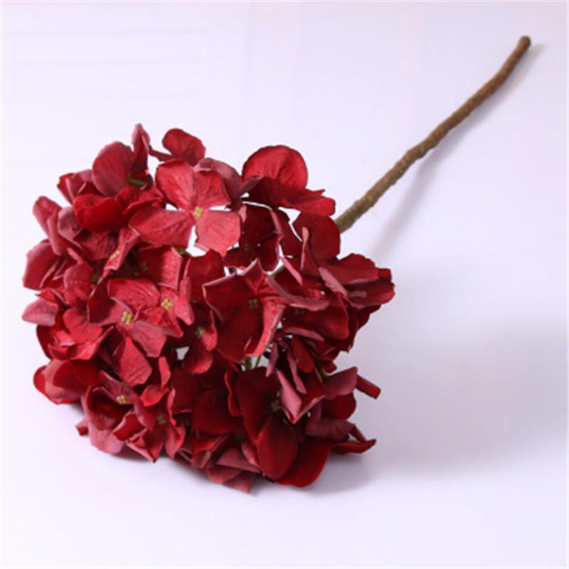 الزخرفية الزهور أكاليل 10 قطع الحرير الكوبية الخريف زهرة ل ديكور المنزل عيد الميلاد الزفاف باقة الزفاف جدار اصطناعي