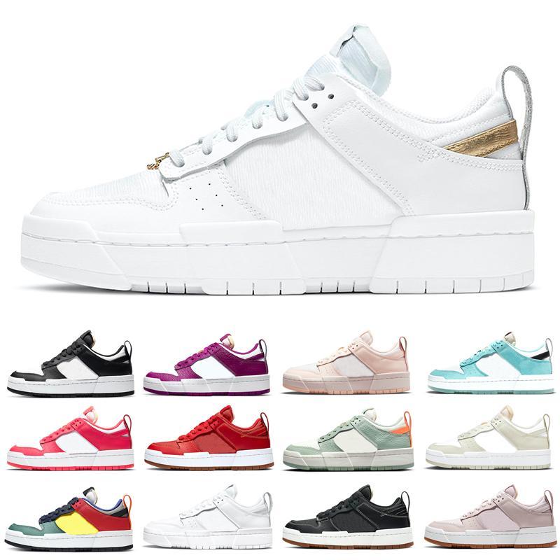 شبح دونك تعطيل الاحذية الرجال النساء أحذية رياضية متعدد الألوان الصبار زهرة الفوتون الغبار بالكاد روز كوبا لعبة الملكية dunks رجل المدربين منصة الركض