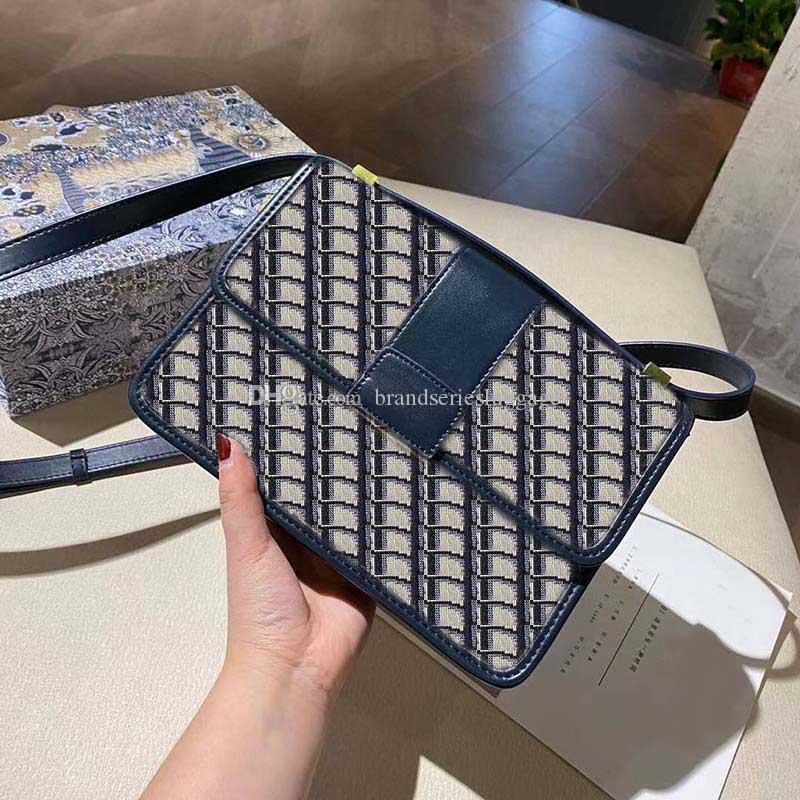 أعلى جودة النساء أزياء حقيبة الكتف محفظة المعادن إلكتروني مشبك حقيبة يد فاخرة مصمم سعة كبيرة رسول حقائب جيسي مع مربع